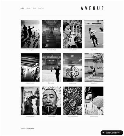 Squarespace Templates Your Guide To Planning Squarespace Design Big Picture Web Squarespace Avenue Template