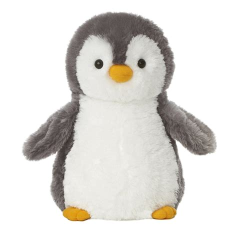 destination nation gray penguin stuffed animal by