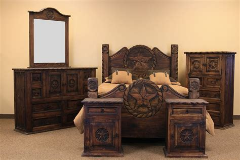 rustic bedroom set dallas designer furniture rustic furniture