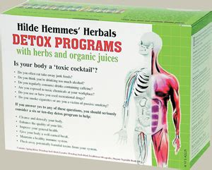 Hilde Detox Book by Hilde Hemmes Herbal Products In Singapore