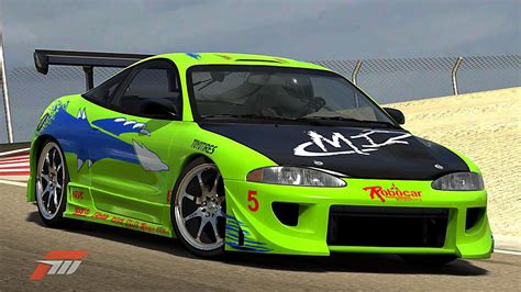 eclipse mitsubishi fast and furious 1995 mitsubishi eclipse the fast and the furious replica