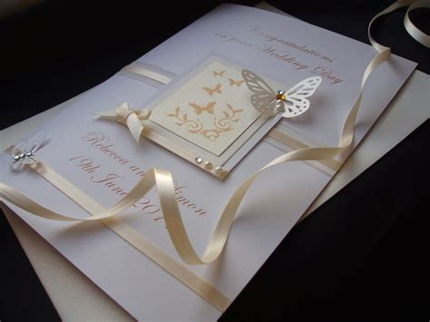 Luxury Handmade Cards - luxury handmade wedding card handmade cards pink posh