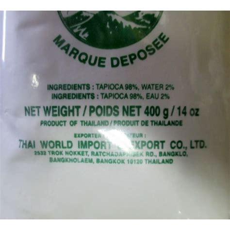 Tapioka Brand 500 Gram tapioca starch baking flour