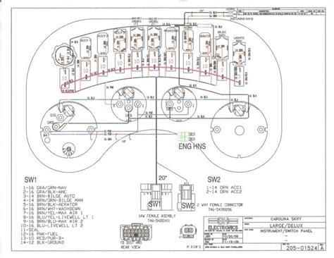 re wiring carolina skiff the hull boating and