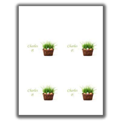 Easter Place Card Template by Easter Place Cards 3