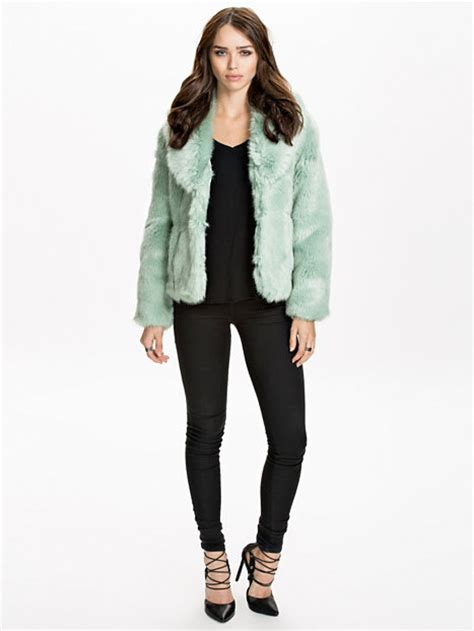 Miss Selfridge Cropped Parka by Cropped Fur Coat Miss Selfridge Mint Jackets And