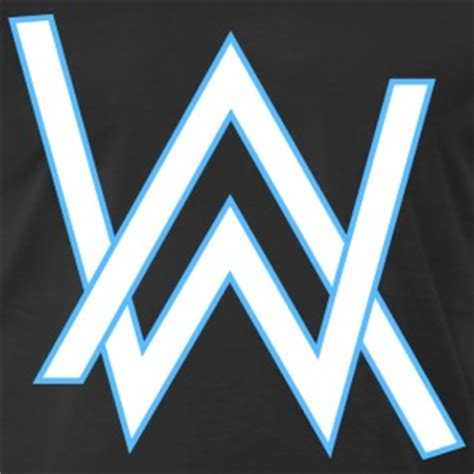 alan walker logo vector walker t shirts spreadshirt
