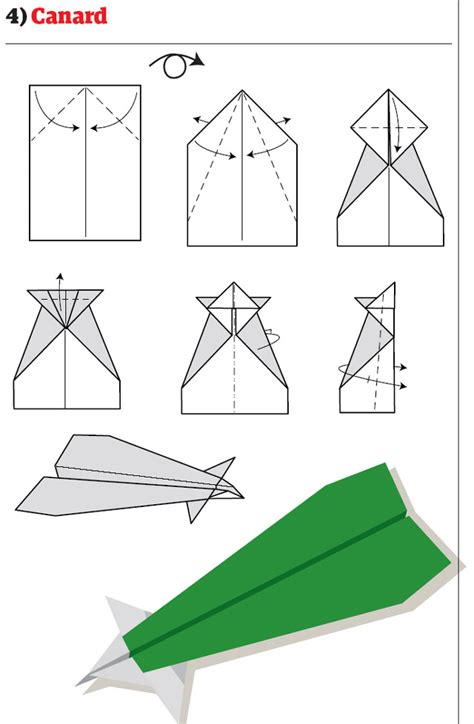 How To Make A Jet Paper Airplane - 4 best images of easy printable paper airplane designs