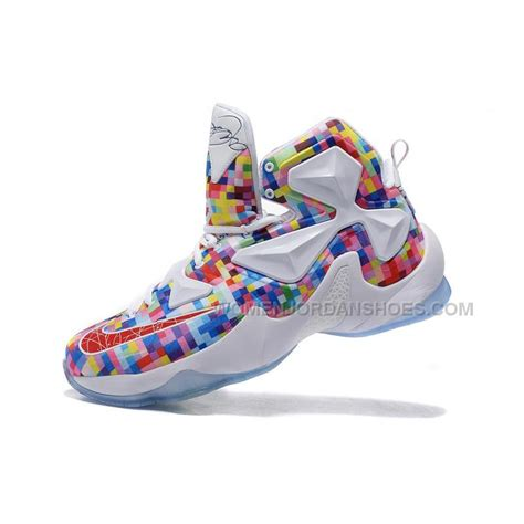 colorful basketball shoes lebron 13 seven colors basketball shoes lebron 13 25k