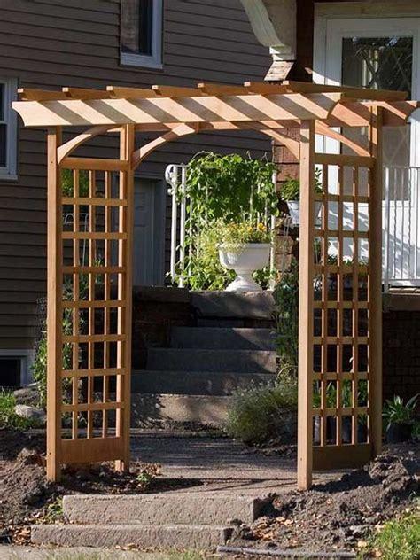 Small Arbor Trellis 25 Best Arbor Ideas On Garden Arbor Arbors