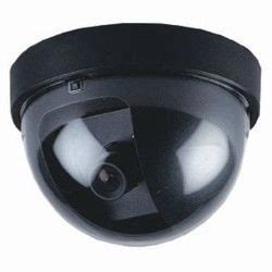 dummy security camera | black dome