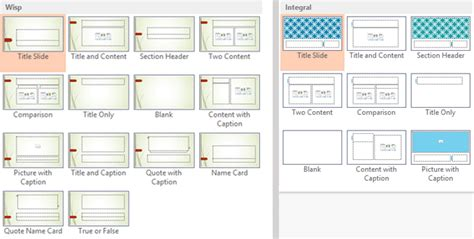 layout in powerpoint 2013 powerpoint 2013 applying themes