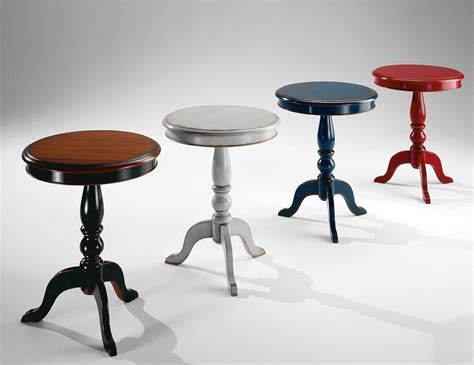 Painted Accent Tables | charme colors philiph italian french painted small accent table