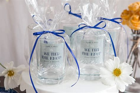 Wedding Giveaways 2015 - wedding giveaways 2015 favor friday shot glass favors weddings ideas from evermine