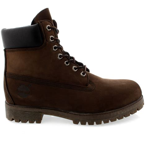 timberland classic mens boots mens timberland classic 6 premium nubuck lace up original