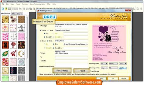 screenshots of wedding card designer software to learn how screenshots of wedding card designing software to learn