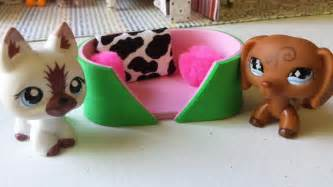 how to make an lps pet bed 2 doll diy