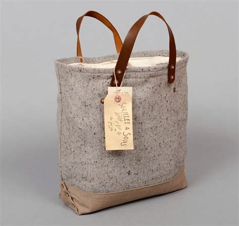 5 Beautiful Bags To Drool by Stanley Sons Th S Co Loaf Bag Grey
