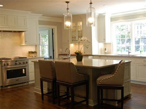 15 kitchen islands with seating for your family home elegant open kitchen karen kettler hgtv