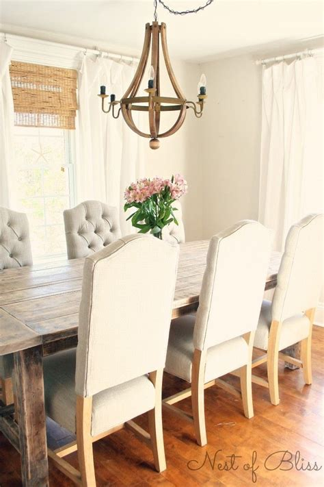 Dining Chairs For Farmhouse Table Best 25 Tufted Dining Chairs Ideas On Pinterest Asian Dining Chairs Dinning Room And