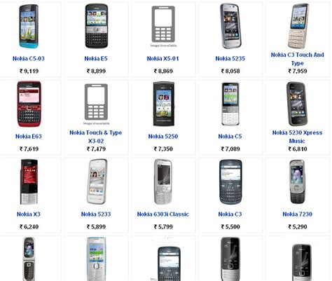 all mobile phones price list nokia mobile phones price list with pictures find mobile