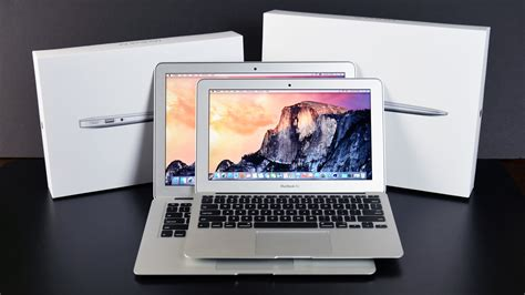 Macbook Air 11 apple macbook air 11 13 2015 unboxing and compar