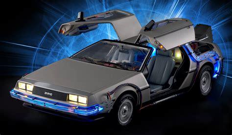 Une superbe maquette pour la DeLorean de Retour vers le Futur
