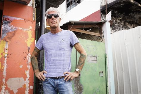 anthony bourdain tattoo anthony bourdain talks tattoos and reveals the one place