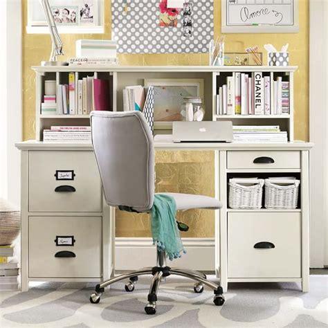 Desks With Hutches Storage Chatham Large File Storage Desk Hutch Pbteen