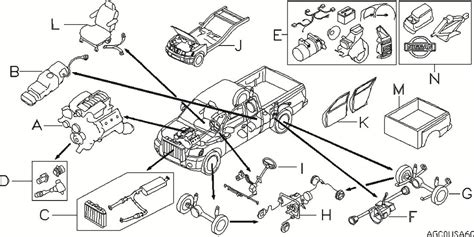 nissan titan parts diagram 2013 nissan titan crew cab oem parts nissan usa estore