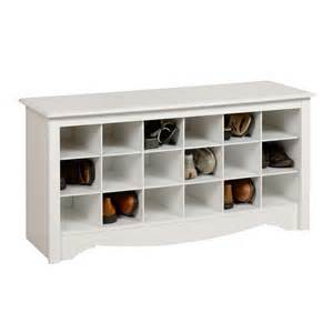 Bench With Shoe Storage Shoe Storage Cubbie Bench Benches Ottomans Brylanehome