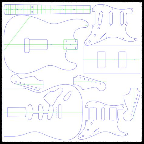 stratocaster routing template stratocaster vibrato guitar routing templates faction