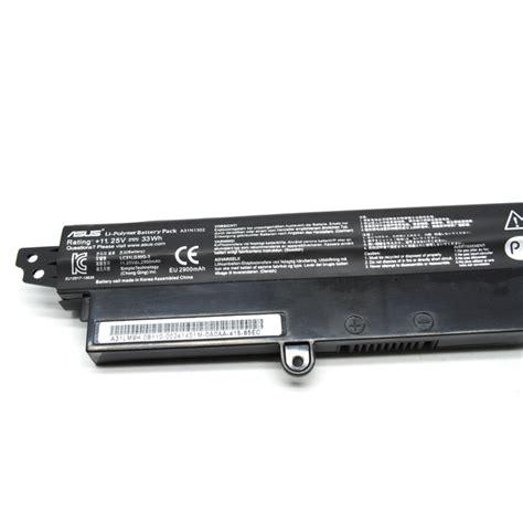 Baterai Notebook Asus baterai laptop asus vivobook x200ca f200ca a31n1302