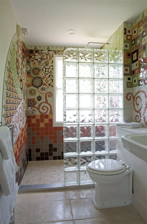 bathroom division add privacy to your bathroom by installing glass blocks