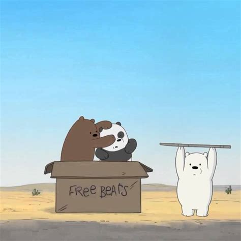 Grizz Pan we bare bears baby grizz pan pan and looking