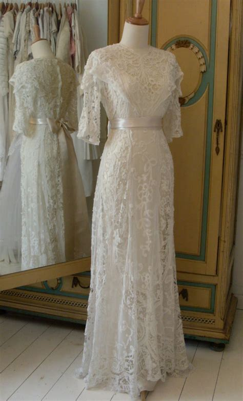 Edwardian wedding dresses   Abigail's Vintage Bridal