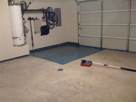 Garage Floor Paint Coverage Tutorial How To Seal Your Garage Floor
