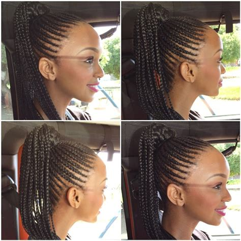 mzansi braids hairstyle 8 mzansi celebs who rock cornrows
