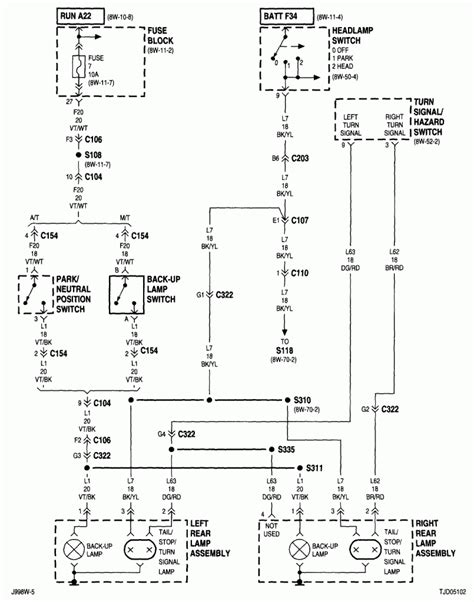 2007 jeep wrangler ignition wiring diagram 2004 jeep grand