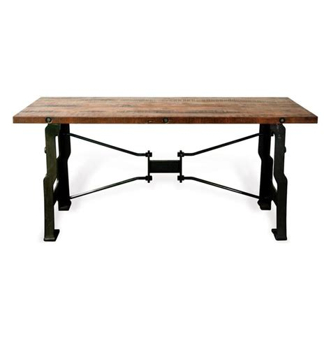 Industrial Reclaimed Wood Desk make your office more eco friendly with a reclaimed wood desk
