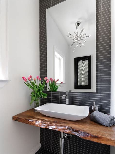 Wood Bathroom by Creating A Feel With Wood In Bathrooms