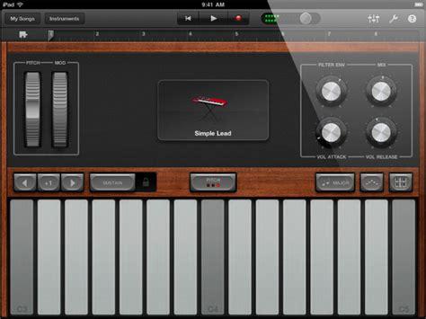 Garageband Drum Machine Apple Garageband For Multi Touch Recording Studio