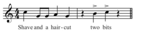 history where does this famous rhythm pattern come from