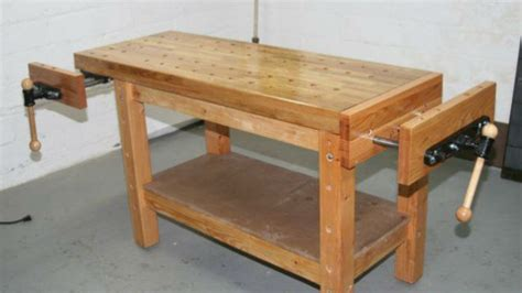 build  woodworkers workbench   handle  project