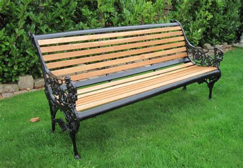garden bench seats original victorian cast iron garden bench seat 4601