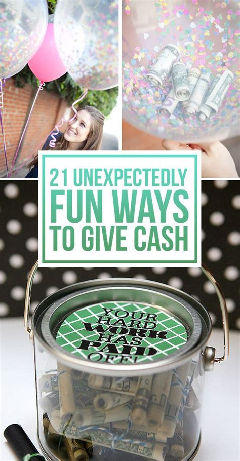 how much money to give at a wedding 21 surprisingly fun ways to give cash as a gift wedding