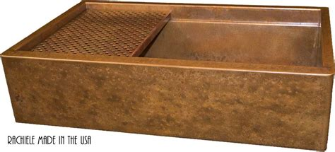 copper farmhouse sink grid copper farmhouse sinks crafted in the usa