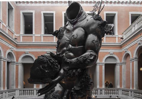 the from the la sterzata di damien hirst a venezia artribune