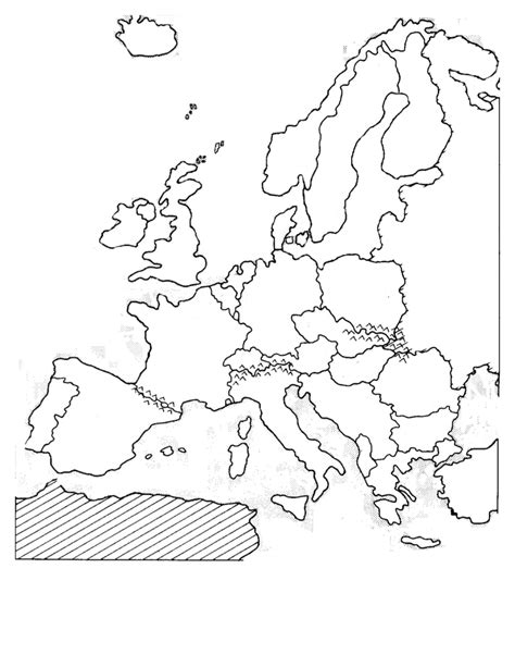 Outline Map Of Russia And Northern Eurasia by Blank Western Europe Map Sketch Coloring Page