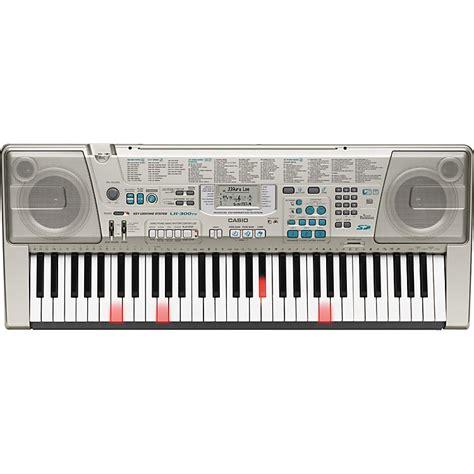 Casio Lighted Keyboard by Casio Lk300tv Lighted Key Keyboard Musician S Friend